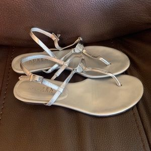 b36236311ad Women s Ralph Lauren Silver Sandals on Poshmark
